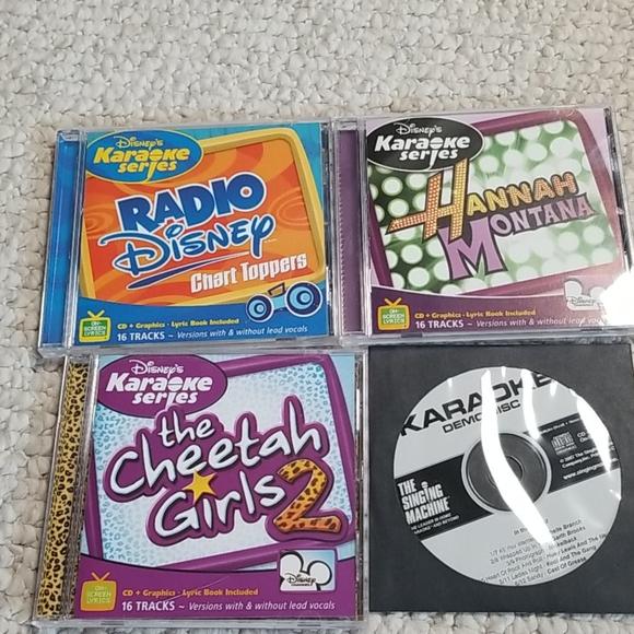 Disney karaoke cds
